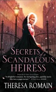 Secrets of a Scandalous Heiress book cover